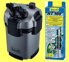 Tetra EX 600 plus Außenfilter inkl Filtermaterial, PLUS Tetra Regelheizer 100W