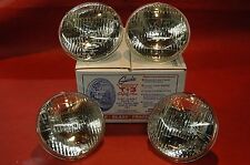 1960-67 T3 HEADLIGHT BULB SET CORVETTE BUICK OLDS PONTIAC CADILLAC CHEVY 4PC NEW