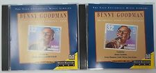 Benny Goodman - Yale Music Archives Vol. 9 & 10 (MusicMasters 2 CDs) EXC LN COND