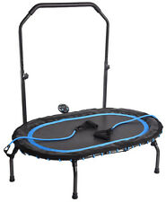 Stamina InTone Oval Fitness Trampoline Rebounder w/ Handlebar & Monitor NEW 2018
