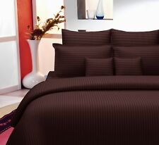 Handmade Indian Royal Plain 100% Cotton King Size Bed Sheet With 2 Pillow Cases