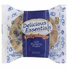 Otis Spunkmeyer Whole Grain Wild Blueberry Muffin 4 Ounce 48