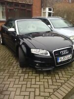 Audi A4 S Line Quattro Convertible RS4 Replica Wing back rs4 recaro bucket seats