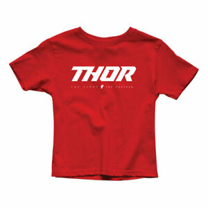 Thor Loud 2 Youth Fashionable Casual Wear T-Shirt Red