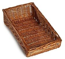 Natural Wicker Sloping Basket