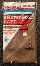 Chocolate Vinyl Shampoo Cape