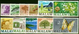Malawi 1966-67 Set of 11 SG252-262 V.F MNH & LMM
