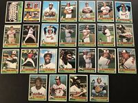 1976 Topps BALTIMORE ORIOLES Complete Set BROOKS ROBINSON Jim PALMER Paul BLAIR