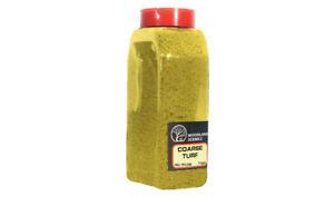 Woodland Scenics T1353 Ground Foam Coarse Yellow Turf 50 cu in Shaker Container