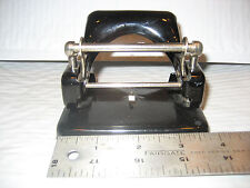 Vintage Leitz No.18 2 hole hand paper punch