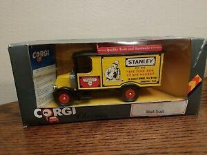 CORGI CLASSICS 1986 DIECAST Stanley Tool Box  Mack Truck C906/6 New In Box!