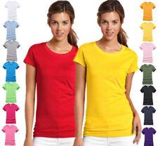 Camisas y tops de mujer de manga corta de 100% algodón
