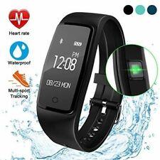 Gulaki Fitness Tracker Watch Smart Wristband Waterproof Smart Activity Fit Bit