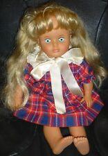 Lissi Batz GmbH Doll Blonde Hair Blue Eyes  # 125 Made in West Germany