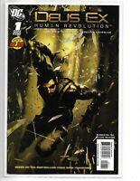 DEUS EX: HUMAN REVOLUTION #1 DC COMICS