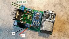 2.5 amp DCC Controller using WiFi & Android App  on phone /tablet