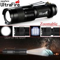 Ultrafire Tactical 20000Lumens LED Flashlight Torch Lamp Light T6 Zoom 14500.