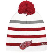 Red Wings de Détroit Classic Reebok à revers Pom Knit-neuf avec étiquettes-TOP QUALITY BRAND