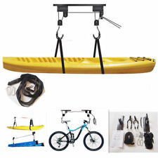 Kayak Hoist Bike Lift Pulley System Garage Ceiling Storage Rack Capacity 20KG