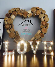 INDUSTRIAL LOVE LIGHT SIGN LED MARQUEE CARNIVAL LAMP URBAN DECOR CHRISTMAS LIGHT