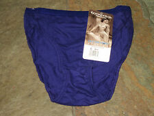 NWT JOCKEY FOR HER Purple French Cut Panties Size 6/Med #1547/89 VINTAGE NWT