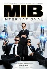 Men In Black International - original Ds movie poster - 27x40 D/S 2019 Hemsworth