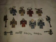 Megabloks / Mega Bloks Knights Minifigs with Weapons