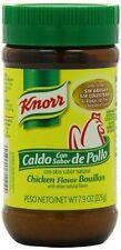 Knorr Caldo Con Sabor a Pollo - Chicken Flavored Bullion 7.9oz Jar FREE SHIPPING