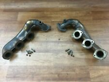 Mercedes Benz 320 SLK R170 petrol exhaust manifolds both sides + fixings