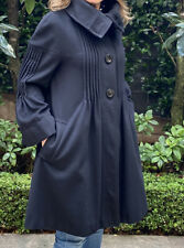 Sportmax Max Mara Black Winter Coat, Sz 10 Aus/IT 42