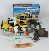 Vintage Playmobil Animal Series Range Rover Mixed Lot, Mostly Complete + Others