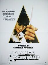 ORANGE MECANIQUE A Clockwork Orange Affiche Cinéma Originale 53x40 Movie Poster