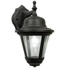 Newport Crest Ingall Black Coach Outdoor Wall Lantern Sconce