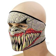neoprene Motorcycle Bicycle SKI Snowboard Fishing SBR CS Face Mask Army gray