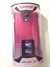 Platinum PINK Protective Case for Samsung INFUSE 4G smartphone SSCIISP