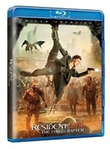 Resident Evil - The Final Chapter (Blu-Ray Disc)