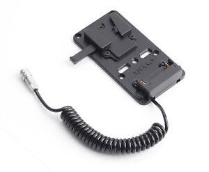 V Mount Lock Battery Power Plate Adapter fr Blackmagic BMPCC 4k 6K Cinema Camera