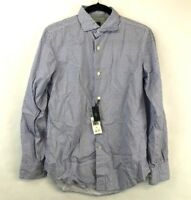 Eleventy Men's Buttondown Shirt Size 38 New With Tags