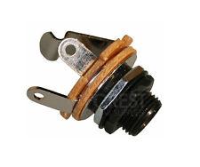 Guitar Jack Output mono metric thread 6.3mm black