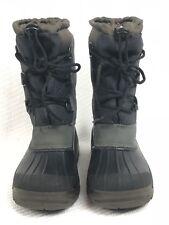 Olang Canadian Kids Snow Boots Black EU 31-32 US 13-1