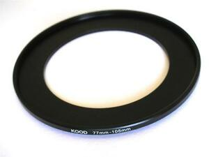 STEP UP ADAPTER 77MM-105MM STEPPING RING 77MM TO 105MM 77-105 FILTER ADAPTER