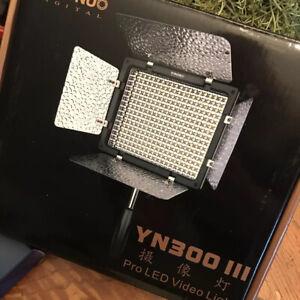 YONGNUO YN300 III Pro LED Video Light 5600K & NP5750 Batteries Pack Of 2
