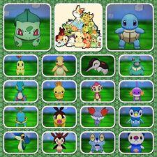 All Generation SHINY STARTER pokemon  | 6IVs  | POKEMON SUN/MOON x15+Free Items
