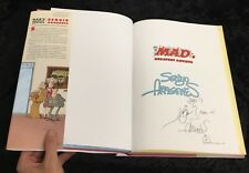 Sergio Aragones Signed Book Five Decades Of His Finest Works MAD MAGAZINE Sketch