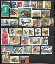 Stamps of Zambia - A Varied Selection of Used - see photos