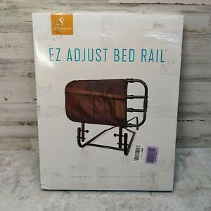 Adjustable Senior Bed Rail Elderly Folding for Adult Side Stander EZ Adjust