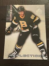 New listing 2020-21 UPPER DECK EXTENDED Triple Dimensions Reflections 3 David Pastrnak #3