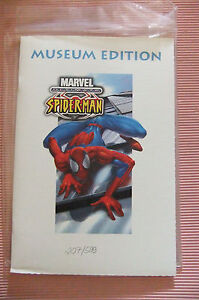 9.9 / 9.4 MINT RARE ULTIMATE SPIDER-MAN # 1 MUSEUM EURO VARIANT SDCC WITH COA