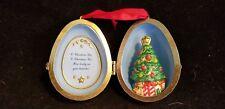 Hallmark Christmas Tree Egg ornament  2000