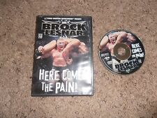 BROCK LESNAR HERE COMES THE PAIN! wwe wrestling dvd